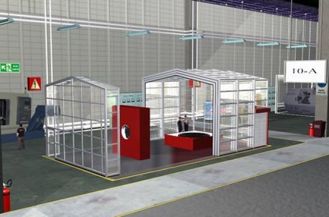 Retractable Clean Room Enclosure #4591 Image 5
