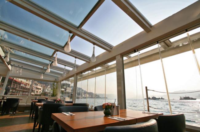 Divan Restaurant Retractable Roof Project #4565 Image 10
