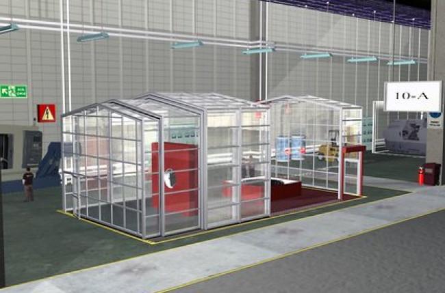 Retractable Clean Room Enclosure #4591 Image 3