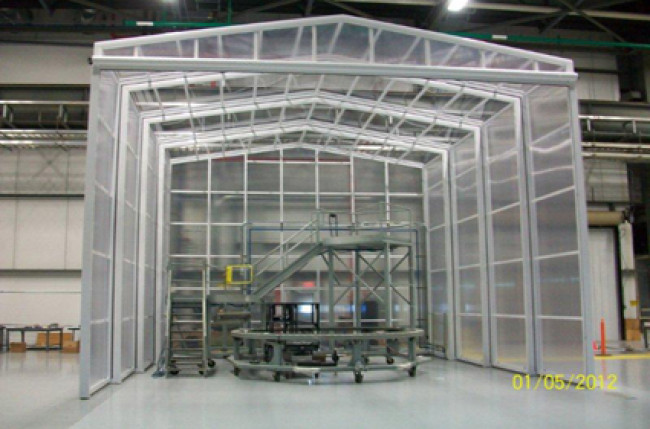 Retractable Roof Clean Room Project #4594 Image 1