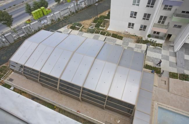 Apartment Pool Enclosure Project #4710 Image 1