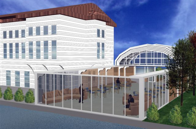 Retractable Restaurant Roof Project #4559 Image 1