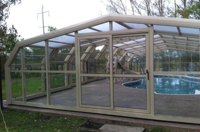 Winnipeg Pool Enclosure Project #4603 Image 2
