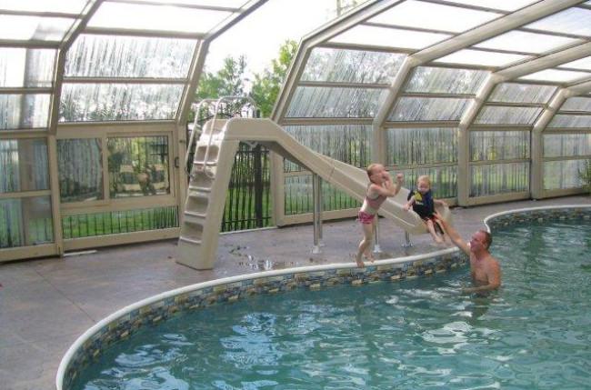Winnipeg Pool Enclosure Project #4603 Image 3
