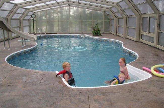 Winnipeg Pool Enclosure Project #4603 Image 4