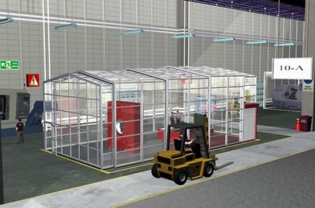 Retractable Clean Room Enclosure #4591 Image 10