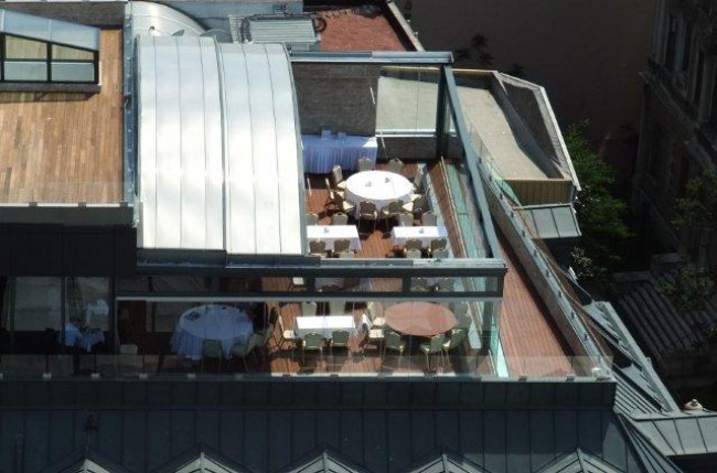 Retractable Rooftop Dining Project #4586 Image 6