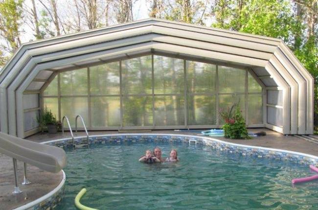 Winnipeg Pool Enclosure Project #4603 Image 7