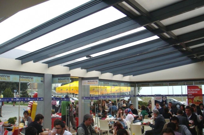 McDonalds Retractable Roof Project #4395 Image 6