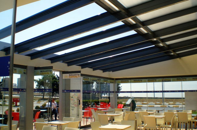 McDonalds Retractable Roof Project #4395 Image 7