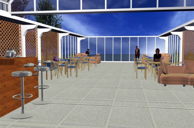 Retractable Restaurant Roof Project #4559 Image 3