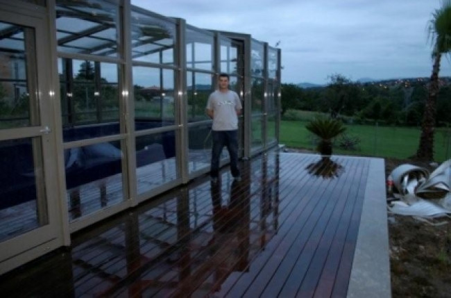 Spain Pool Enclosure Project #4487 Image 7