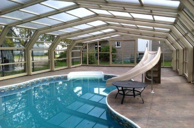 Winnipeg Pool Enclosure Project #4603 Image 8