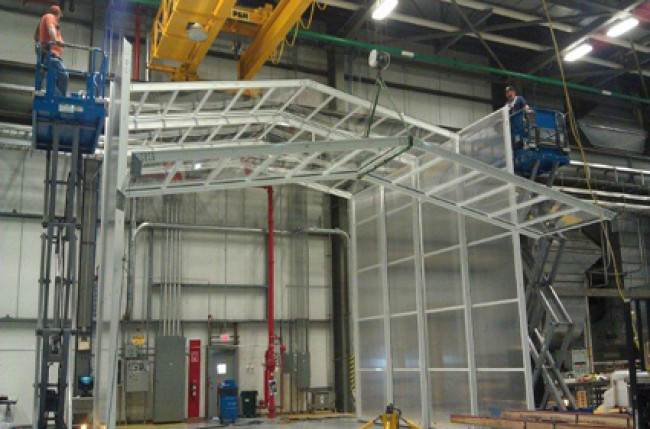 Retractable Roof Clean Room Project #4594 Image 3