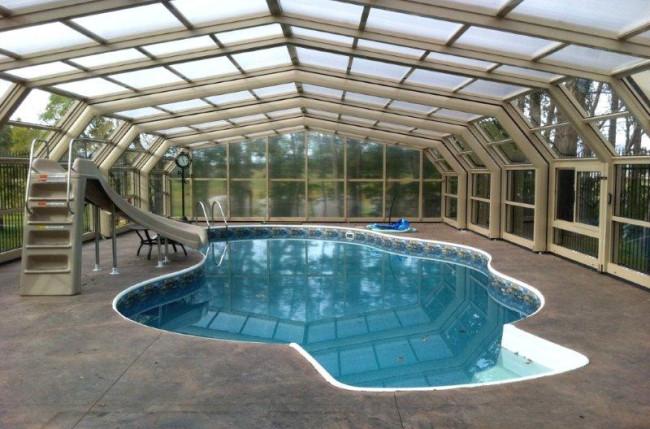 Winnipeg Pool Enclosure Project #4603 Image 9