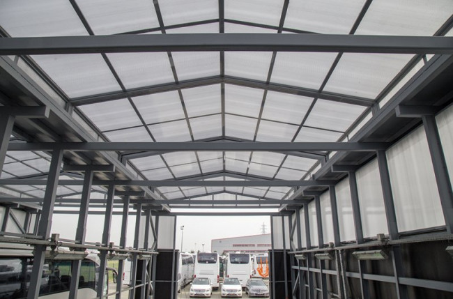 Retractable Industrial Roof Project #5136 Image 7