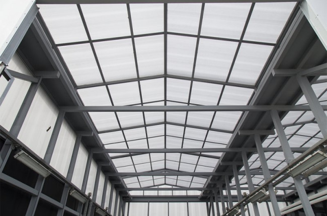 Retractable Industrial Roof Project #5136 Image 6