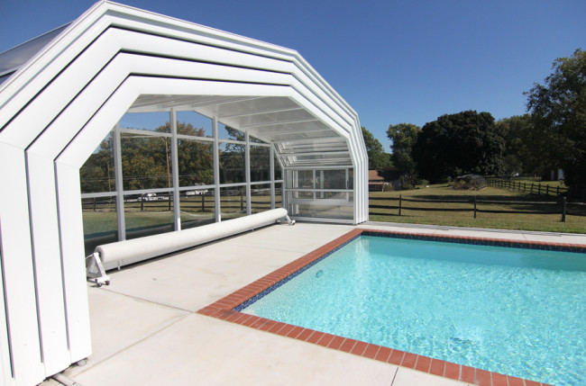 Sykesville Pool Enclosure Project #3698 Image 3