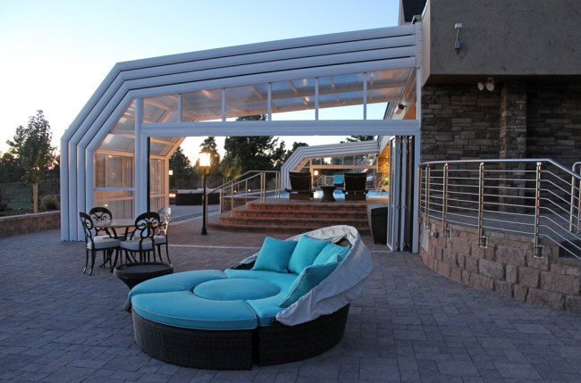 Colorado Pool Enclosure Project #4721 Image 2