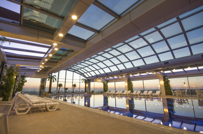 Hotel Grand Altuntas Pool Skylights #4810 Image 9