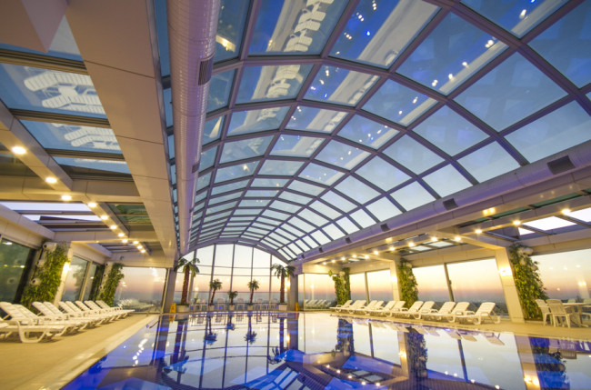 Hotel Grand Altuntas Pool Skylights #4810 Image 8