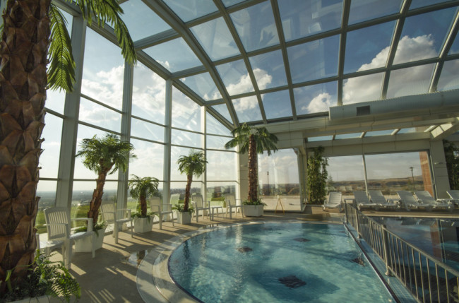 Hotel Grand Altuntas Pool Skylights #4810 Image 7