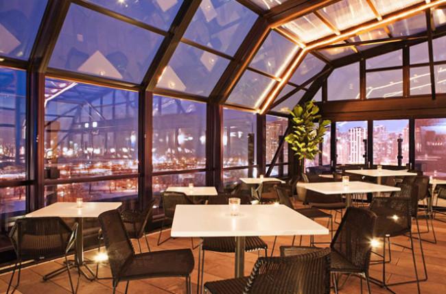 Chicago Restaurant Retractable Roof Enclosure #4655 Image 1