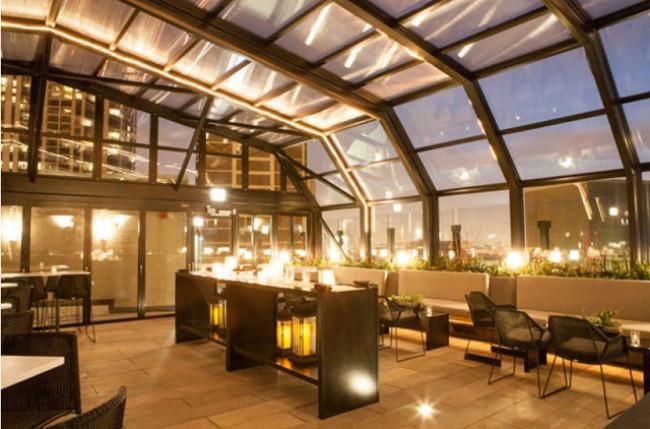 Chicago Restaurant Retractable Roof Enclosure #4655 Image 2