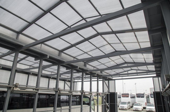Retractable Industrial Roof Project #5136 Image 1