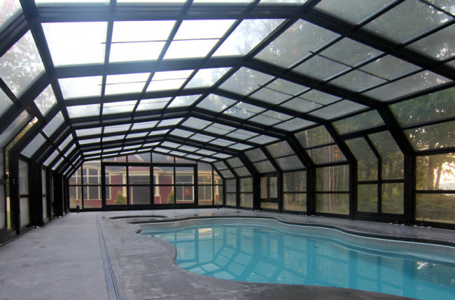 Indoor/Outdoor Pool Enclosure in Maine #2375 Image 13