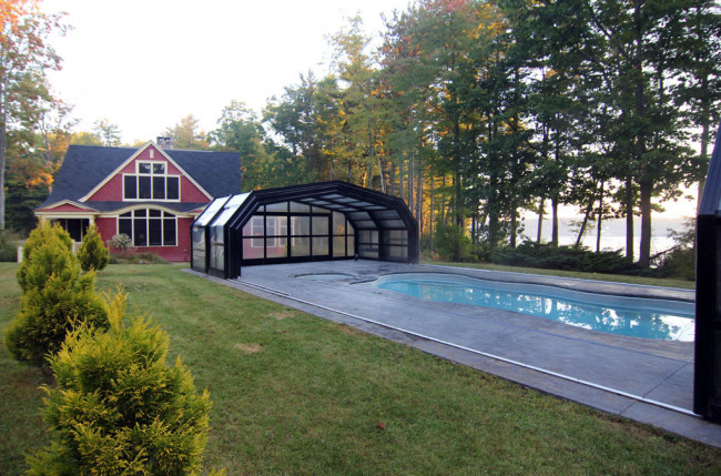 Indoor/Outdoor Pool Enclosure in Maine #2375 Image 12