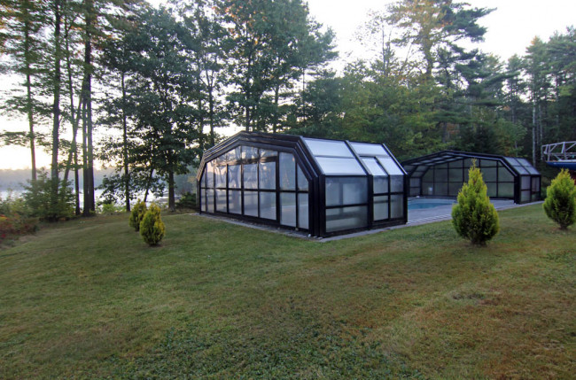 Indoor/Outdoor Pool Enclosure in Maine #2375 Image 11