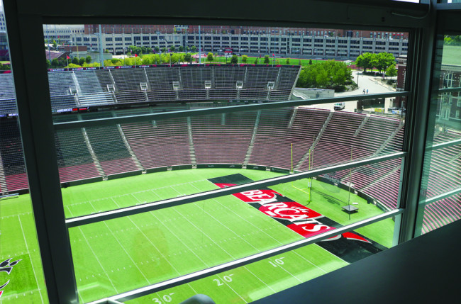 Stadium Retractable Wall Project #2783 Image 2