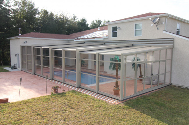 Lean-To Pool Enclosure Project #4314 Image 6