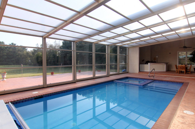 Lean-To Pool Enclosure Project #4314 Image 5