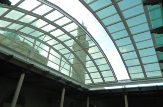 Courtyard Skylight Roof Project #3941 Image 3