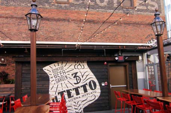 Pittsburgh Restaurant Retractable Roof #1184 Image 3