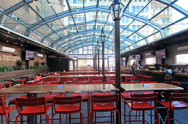 Pittsburgh Restaurant Retractable Roof #1184 Image 8