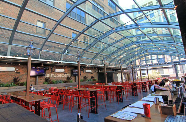 Pittsburgh Restaurant Retractable Roof #1184 Image 7