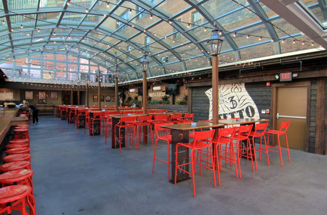 Pittsburgh Restaurant Retractable Roof #1184 Image 6