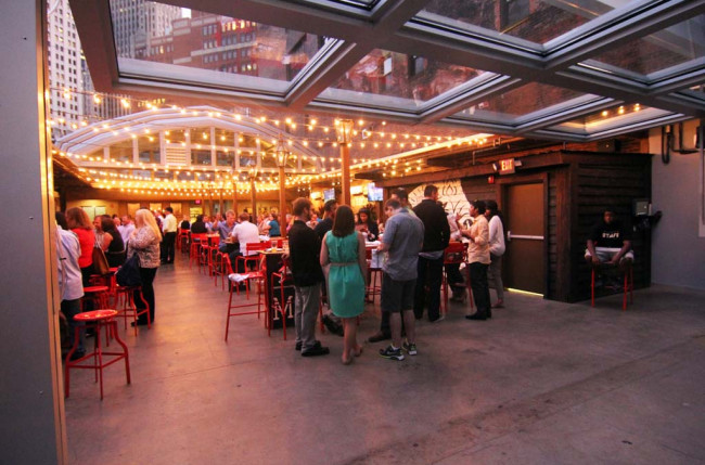 Pittsburgh Restaurant Retractable Roof #1184 Image 11