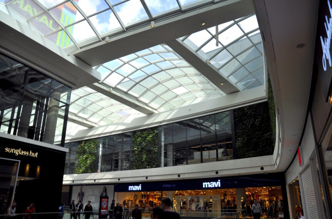 Shopping Mall Skylight Roof Project #6686 Image 2