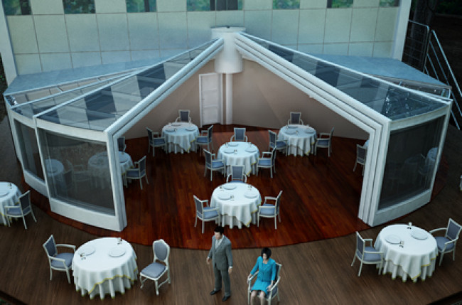 Round Retractable Roof Project #4189 Image 13